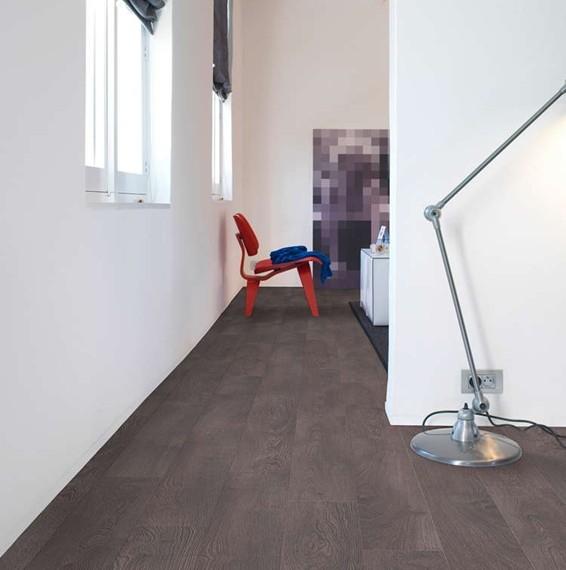 quickstep classic old oak grey laminate flooring clm1382