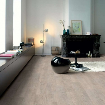 Quick-Step Classic Old Oak Light Grey Laminate Flooring CLM1405