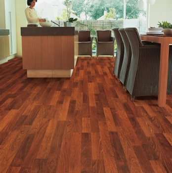 Quick-Step Classic Enhanced Merbau 3 Strip Laminate Flooring CL1039
