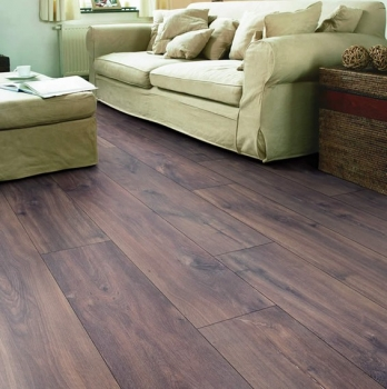 Quick-Step Classic Midnight Oak Brown Laminate Flooring CLM1488