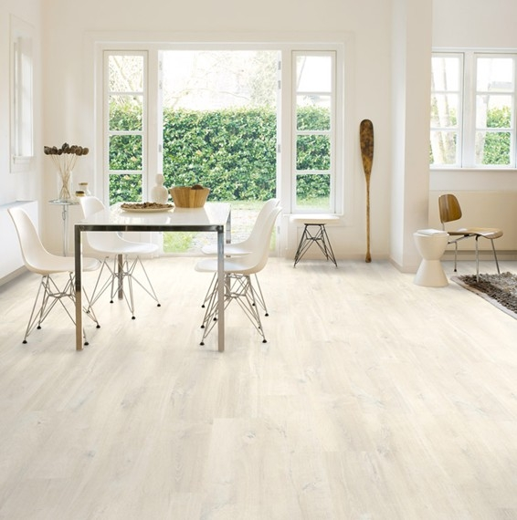Quick Step Creo Charlotte Oak White Laminate Floor Save More At