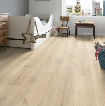 Quick-Step Creo Tennessee Oak Light Wood Laminate Flooring CR3179