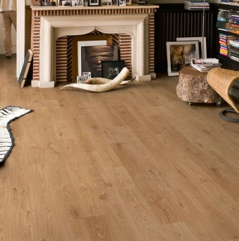 Quick-Step Elite White Oak Light Laminate Flooring UE1491