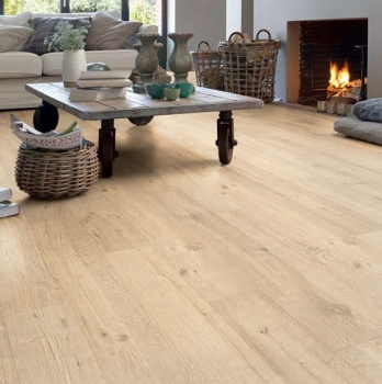 Quick-Step Impressive Sandblasted Oak Natural Laminate Flooring IM1853