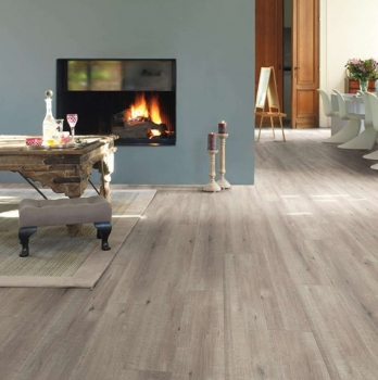 Quick-Step Impressive Saw Cut Oak Grey Laminate Flooring IM1858