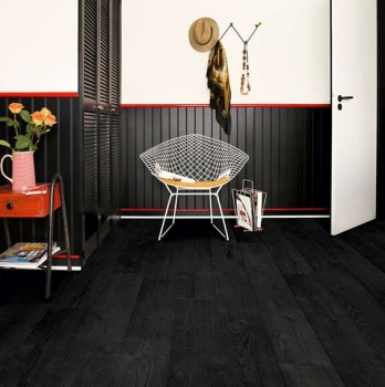 Quick-Step Impressive Burned Planks Laminate Flooring IM1862