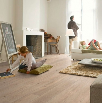 Quick-Step Largo Long Island Oak Natural Laminate Flooring