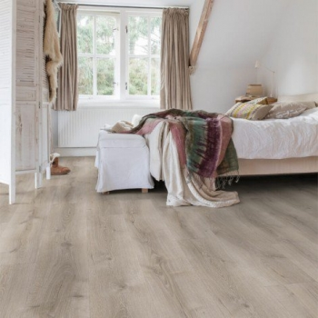Quick-Step Majestic Dessert Oak Brushed Grey Laminate Flooring MJ3552