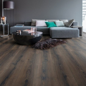 Quick-Step Majestic Dessert Oak Brushed Dark Brown Laminate Flooring