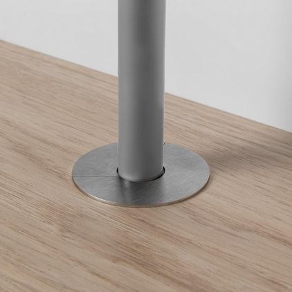 Quick Step Stainless Steel Radiator Pipe Covers 15mm Or