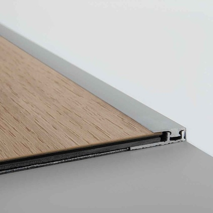 quick step livyn end profile save more at hamiltons. Black Bedroom Furniture Sets. Home Design Ideas