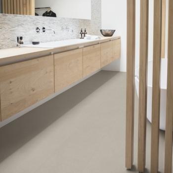 Quick-Step Livyn Ambient Vibrant Sand Vinyl Flooring AMCL40137