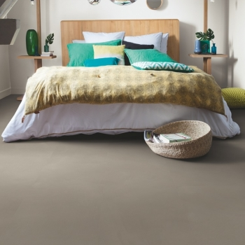 Quick-Step Livyn Ambient Minimal Taupe Vinyl Flooring AMCL40141