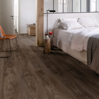 Quick-Step Livyn Balance Cottage Dark Brown Vinyl Flooring BACL40027