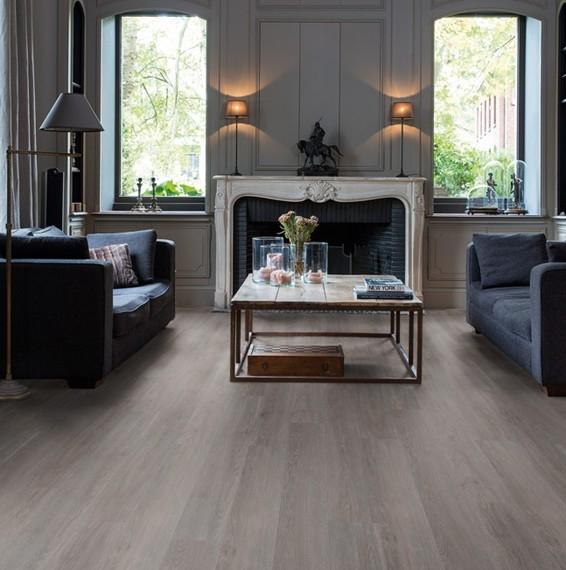 Quick Step Livyn Balance Silk Oak Dark Grey Vinyl Flooring BACL40060