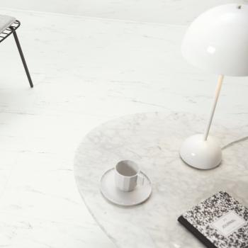 Quickstep Livyn Alpha Rigid Click Marble Carrara White