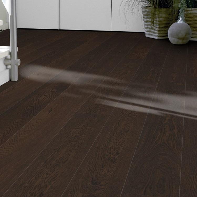 Tarkett Prestige Oak Dark Slate Engineered Wood Flooring