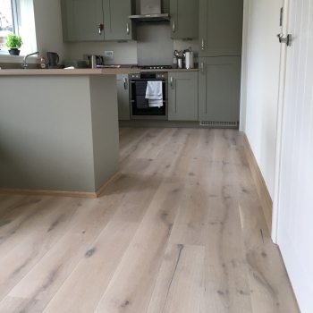 Tarkett Heritage Oak Limestone Engineered Wood Flooring