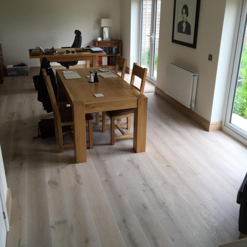 Tarkett Heritage Oak Limestone Engineered Wood Flooring