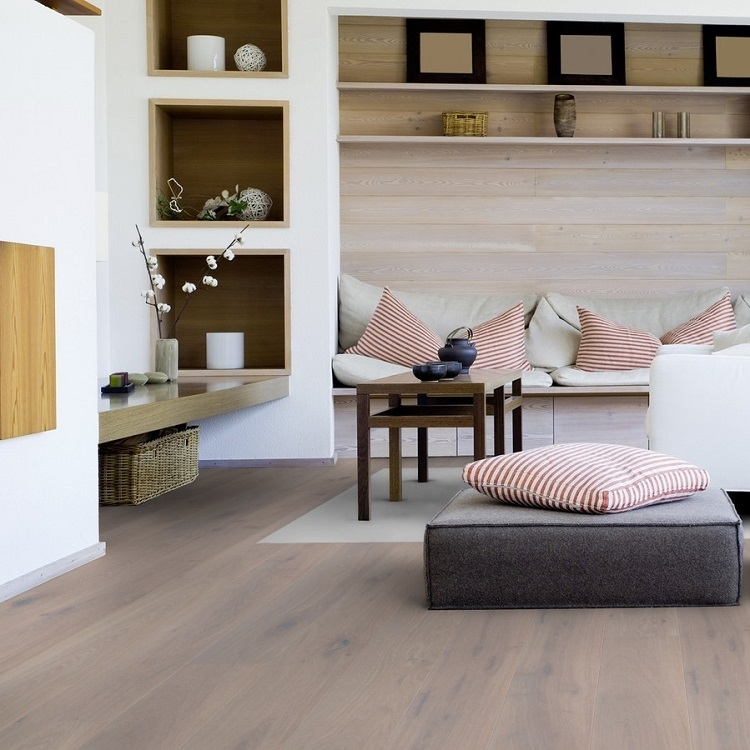 Tarkett Heritage Atelier Oak Urban Grey Engineered Wood Flooring