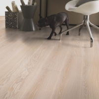 Tarkett Prestige Oak White Sand Engineered Wood Flooring