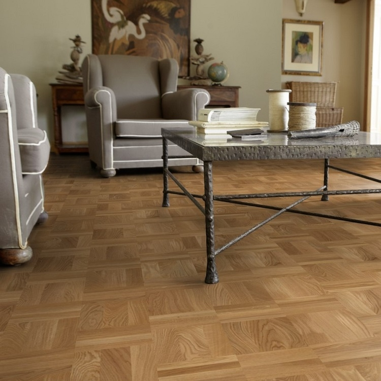 Tarkett Atelier Parquet Oak Retro Basket Weave Parquet Flooring