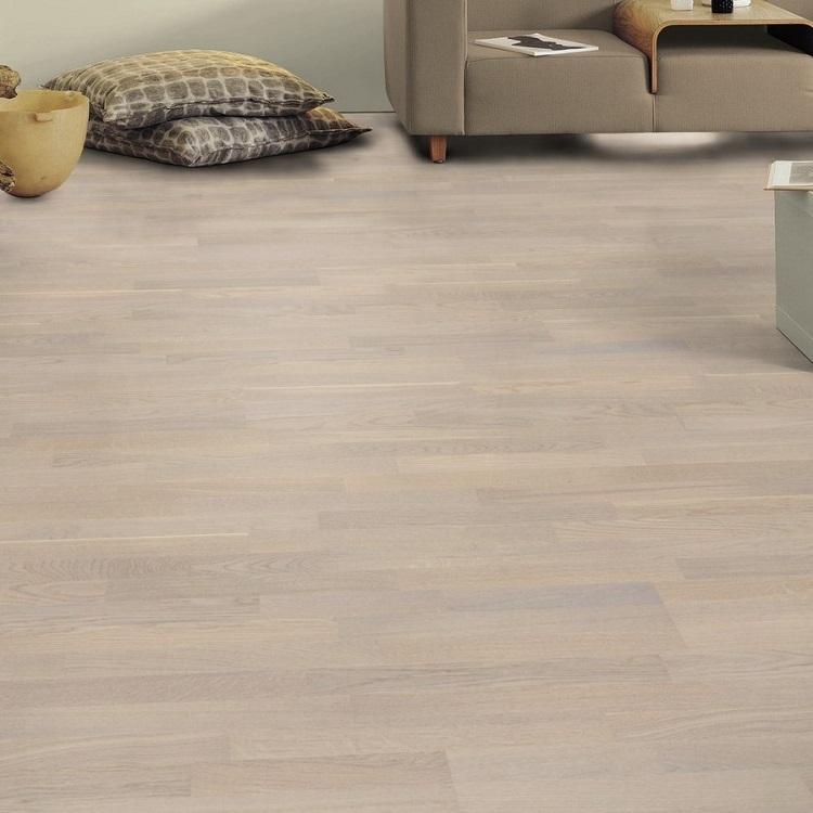 Tarkett Oak Cotton White Tres Engineered Wood Flooring