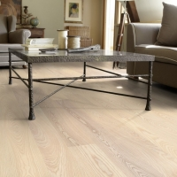 Tarkett Ash Linen White Plank Engineered Wood Flooring