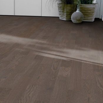 Tarkett Stone Grey 2 strip Natura Lacquer Engineered Wood Flooring