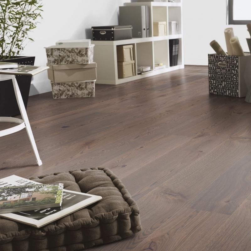 Tarkett Stone Grey Oak Natura Matt Lacquer Engineered Wood Flooring