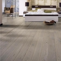 Tarkett Misty Grey Natura Matt Lacquer Engineered Wood Flooring
