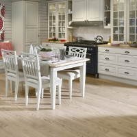Tarkett Oak Antique White 162mm Engineered Wood Flooring