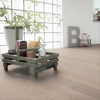 Tarkett Robust Grey Natura Matt Lacquer Engineered Wood Flooring