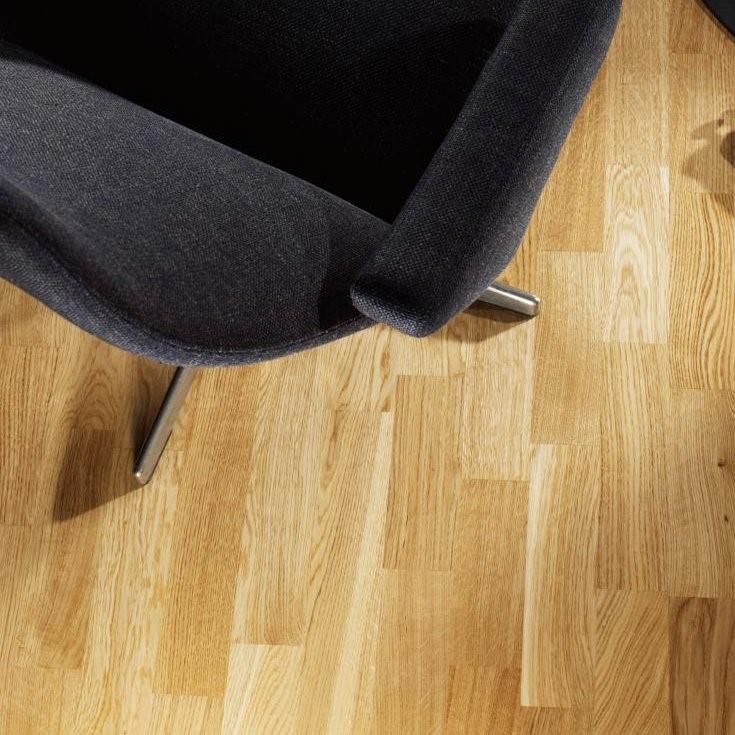 Tarkett Pure Brushed Oak Nature 3 Strip Engineered Wood