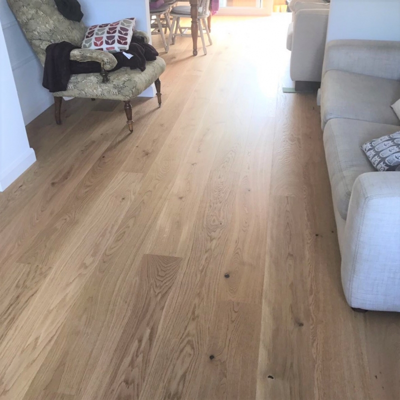 Tarkett Oak Rustic Natura 190mm Engineered Wood Flooring