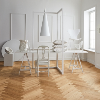 Tarkett Segno Oak Natural Herringbone