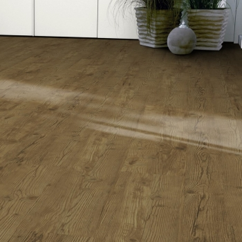 Tarkett iD Inspiration Loose-lay Christmas Pine Brown Vinyl Flooring
