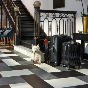 Tarkett iD Inspiration Loose-lay Beton Tile Patterned Vinyl Flooring