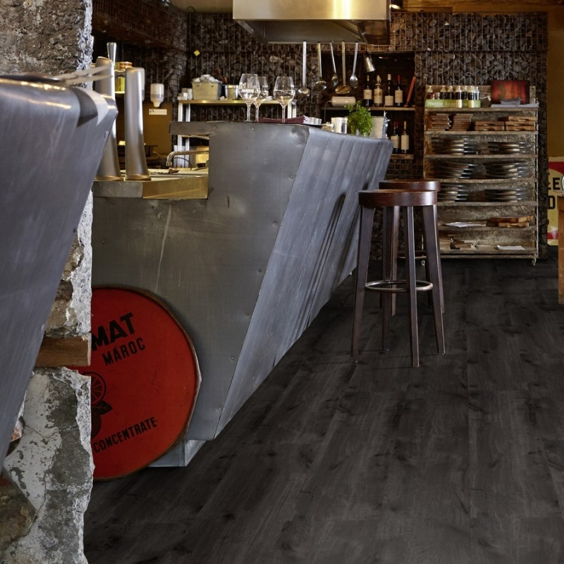 Tarkett ID Inspiration Loose Lay Mountain Oak Black Vinyl Flooring