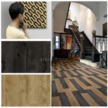 Tarkett iD Inspiration Loose-lay Mountain Oak Patterned Vinyl Flooring