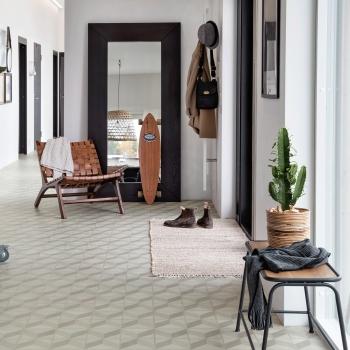 Tarkett Starfloor 30 Click Cube 3D Grey Vinyl Tile Flooring