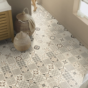 Tarkett Starfloor 30 Click Retro Black White Vinyl Tile Flooring