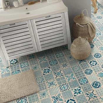 Tarkett Starfloor 30 Click Retro Indigo Vinyl Tile Flooring