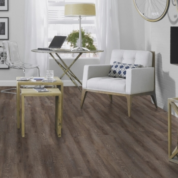 Tarkett Starfloor 30 Click Smoked Oak Dark Grey Vinyl Flooring