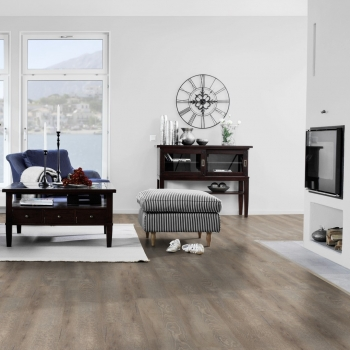 Tarkett Starfloor 30 Click Smoked Oak Light Grey Vinyl Flooring