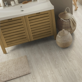 Tarkett Starfloor 55 Click Brushed Pine White Vinyl Flooring