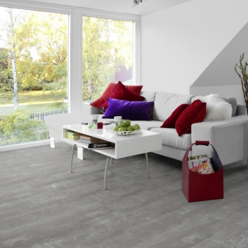 Tarkett Starfloor 55 Click Composite Cool Grey Vinyl Tile Flooring