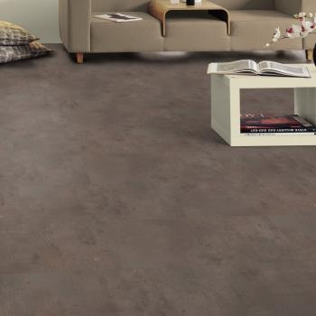Tarkett Starfloor 55 Click Vintage Zinc Rust Vinyl Tile Flooring