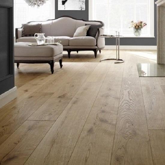 Tuscan Grande Natural Oak Handscraped Tf300 Engineered Wood Flooring