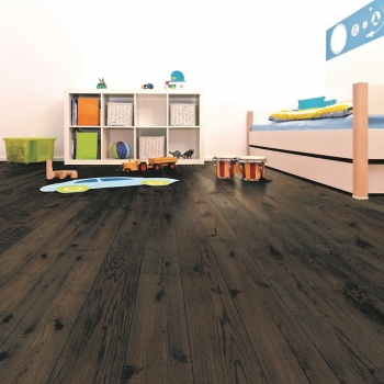 Tuscan Vintage Dark Smoked Oak TF202 Engineered Wood Flooring